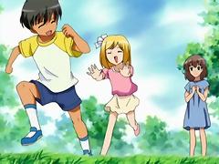 Hentai Princess rides luckless Yohmei Asakura and gets off